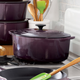 Le Creuset® Cassis Oval French Oven, 6¾ qt.