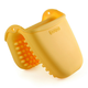Butter Yellow Silicone Mini Mitt with Raised Nibs