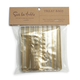 Gold-Striped Cellophane Treat Bags, Sets of 12