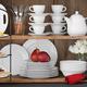 Sur La Table® 30 Piece Porcelain Dinnerware Set