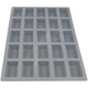 de Buyer® Elastomoule Mini Financier Grid, 25 Portions