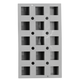 de Buyer Elastomoule Cube Grids, 15 Portions