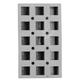 de Buyer® Elastomoule Cube Grids, 15 Portions