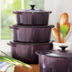 Le Creuset® Cassis Round French Ovens