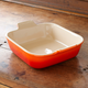 Le Creuset® Flame Heritage Stoneware Square Baker, 9