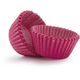Solid-Pink Mini Bake Cups, Set of 40