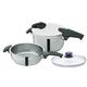 Fissler Quattro Pressure Cooker 4-Piece Set