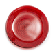 Red Glass Rope Plate, 6