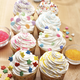Wilton® Cupcake Toppings, Jumbo Stars