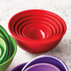 Sur La Table® Red Mixing and Prep Bowl Set