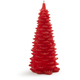 Christmas Tree Candle, Red