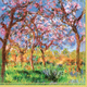 Monet Giverny Paper Cocktail Napkins