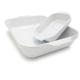 Emile Henry® White Lasagna Dishes, Set of 2