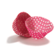Pink Polka Dot Bake Cups, Set of 40