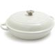 Le Creuset® White Braiser, 3½ qt.
