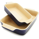 Le Creuset® Classic Indigo Bakers, Set of Two