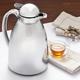 Chrome-Plated Tea Carafe