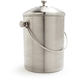 Stainless-Steel Compost Pail, 1½ gallon