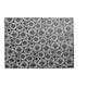 Black Vinyl Crochet Placemat, 19