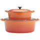 Le Creuset® Flame Oval French Ovens