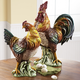 Italian Hand-Painted Ceramic Rooster