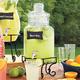 Hexagonal Beverage Jar Stand