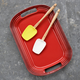 Le Creuset® Cherry Rectangular Serving Platter