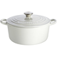 Le Creuset® White Round French Ovens