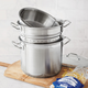 Sur La Table® Stainless Steel Multi-Cooker, 12 qt.