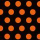 Orange Dots Paper Cocktail Napkin