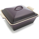 Le Creuset® Cassis Heritage Square Covered Baker, 3 qt.