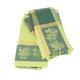 Green Olive-Motif Jacquard Napkins, 18