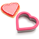 Wilton® Comfort-Grip Heart Cookie Cutter