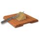 Swissmar® Bamboo Cutting Board with Cheese Knife