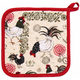 Now Designs Rustic Rooster Collection Potholder