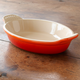 Le Creuset® Flame Heritage Stoneware Oval Gratin, 8