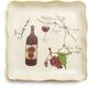 Siena Italian Wine Appetizer Plate
