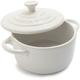 Le Creuset® White Stoneware Petite Casserole