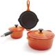 Le Creuset® Flame 5-Piece Essential Set