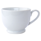 Blanc Footed Latte Cup, 10 oz.