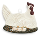 White Hen Spoon Rest