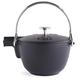 Staub® Graphite Round Teapot