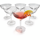 Schott Zwiesel® Bar Collection Contemporary Martini Glass Set
