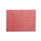 Chilewich Red Rectangular Basketweave Placemat