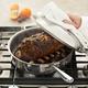 All-Clad® Stainless Brown & Braise Sauté Pan, 4 qt.