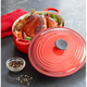 Le Creuset® Cherry Wide Oval French Oven, 3½ qt.