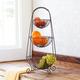 Three-Tiered Basket Stand