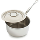 Mauviel® M'Cook Stainless Steel Saucepans