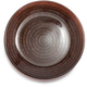 Copper Glass Rope Plate, 6