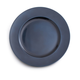 Blue Metallic-Colored Round Charger, 13